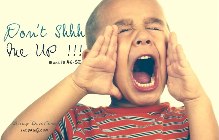 Do not SHHHHHH me!! – Relentless Pursuit for Your Change!