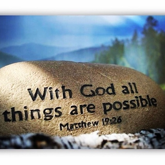 All Things Are Possible – PAID INFULL